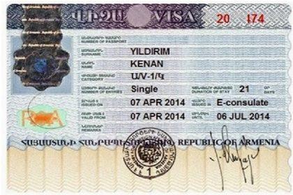 Ermenistan Vizesi Nasıl Alınır?