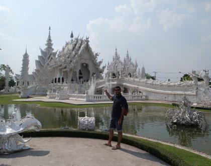 Tayland'ın En Güzel Tapınağı Chiang Rai Beyaz Tapınak
