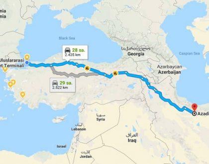 Otobüs İle İran'a Nasıl Gidilir